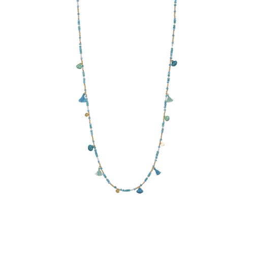 Sombrilla Necklace - Turquoise