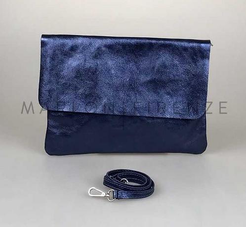 Cap Martinet Clutch - Metallic Blue