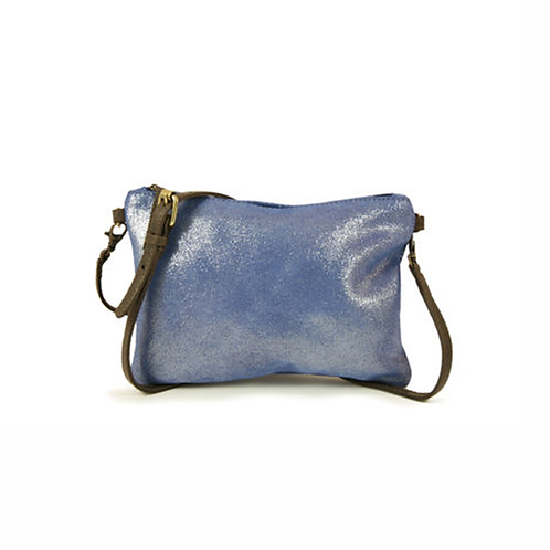San Rafael Purse - Metallic Cobalt