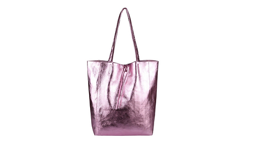 Cala Gracio Tote - Metallic Pink