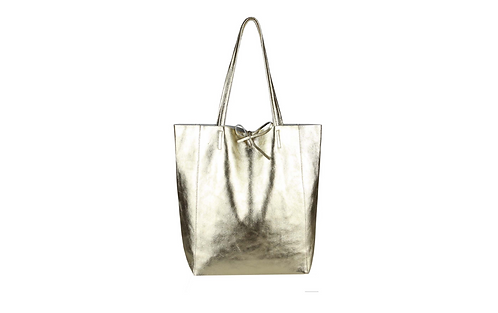 Cala Gracio Tote - Metallic Gold