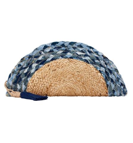 Santa Eualia - Braided Blue Clutch
