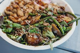 Asian Teryaki Bowl