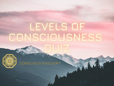 What Is Your Level Of Consciousness?