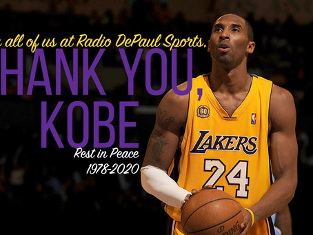 Quick Thoughts on the Passing of Kobe Bryant