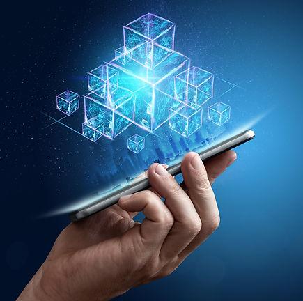 technology-blockchain-abstract-backgroun