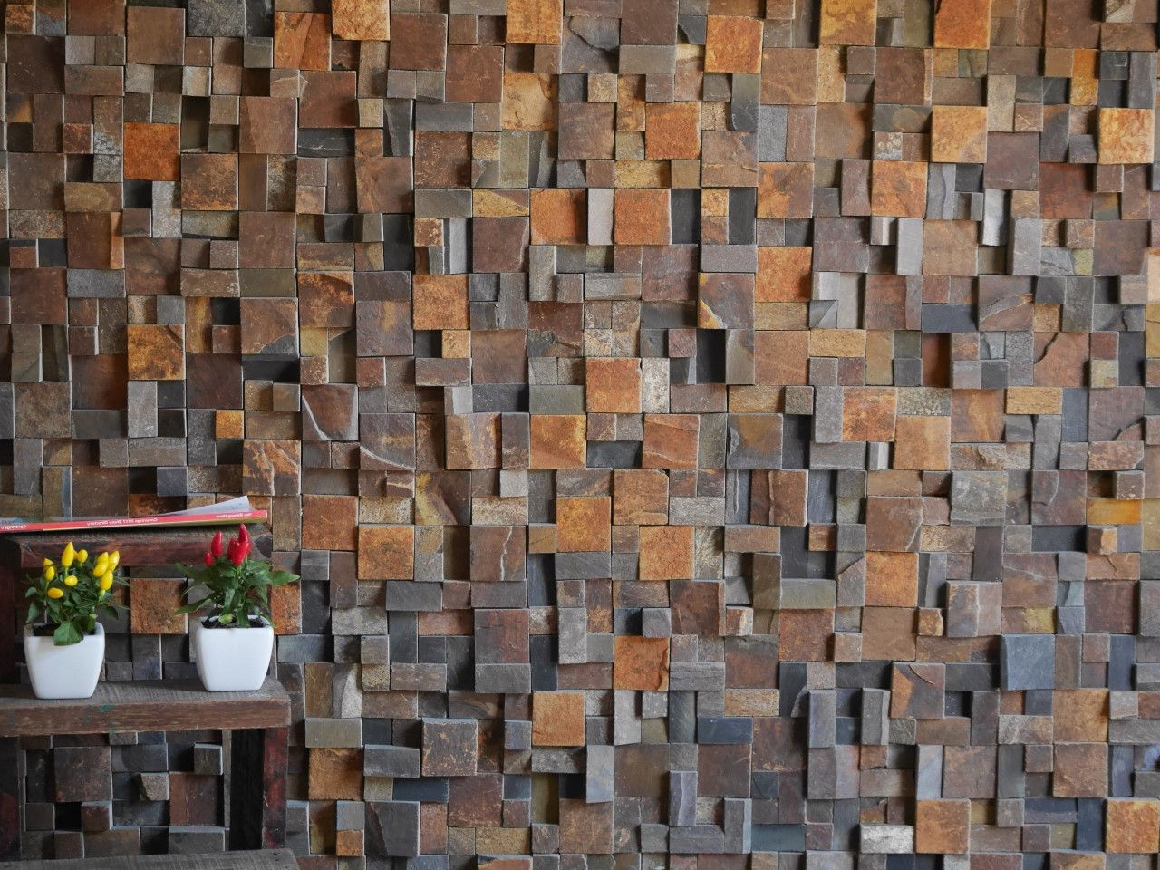 BAS042F - Mosaico Delicatto Ferrugem
