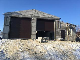Строительство ангаров боксов гаражей 891