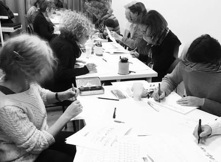 Atelier de calligraphie Gestuelle