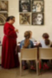 Atelier Calligraphie à Beauvoir en Royans