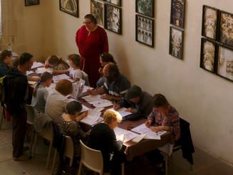 Calligraphie à Beauvoir-en-Royans