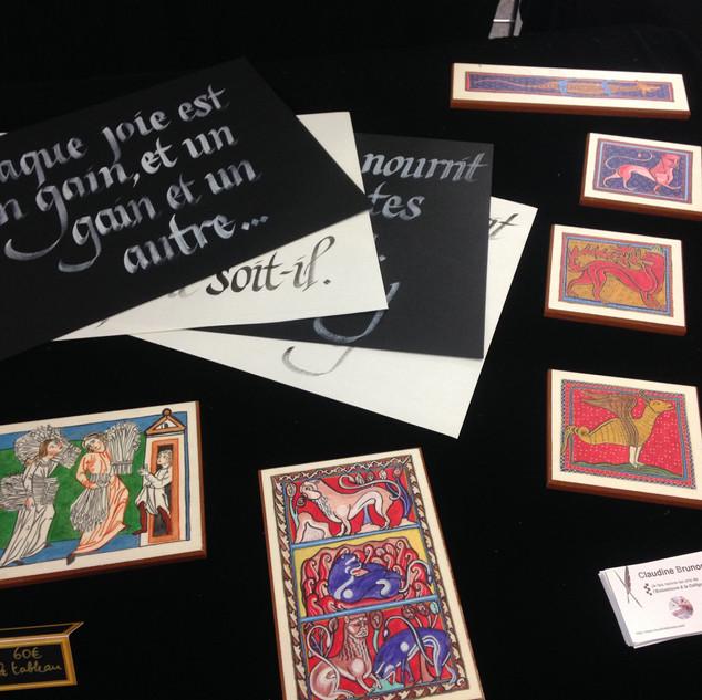 Calligraphies et Enluminures