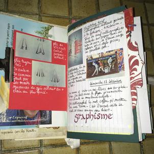 'Graphisme' calligraphié
