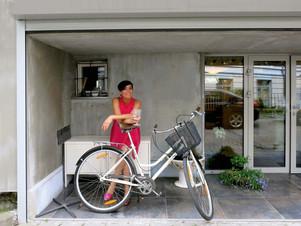 Nomeda Marčėnaitė buvusiame garaže įrengė gyvenamąją erdvę