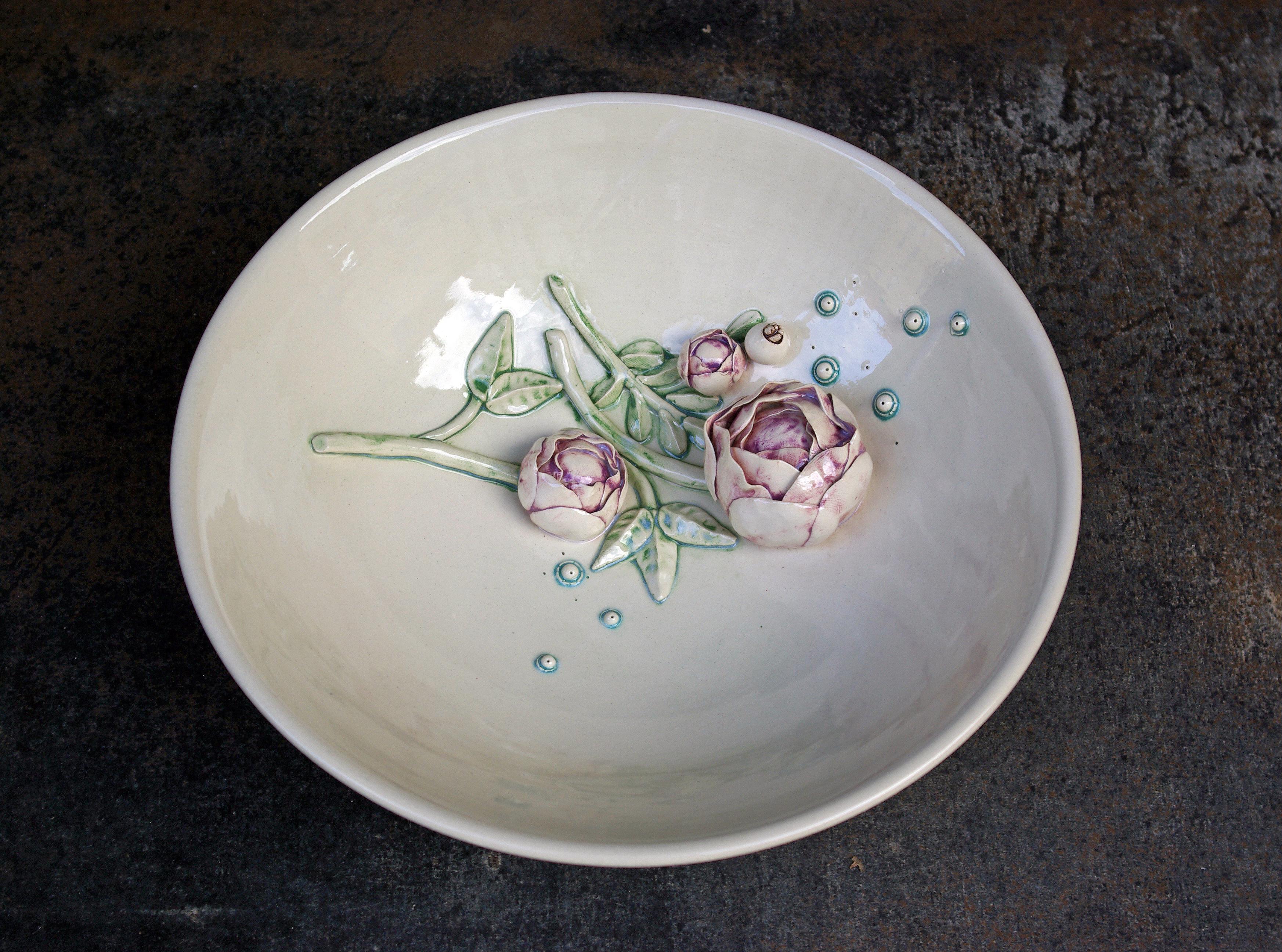 Lėkštė su augalu