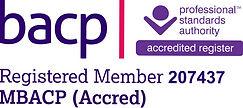 BACP Logo - 207437 (1) Accreditation _ed