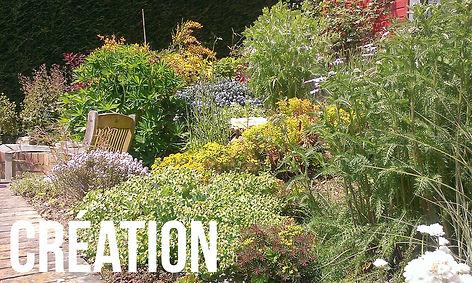 Exemples, réalisations de création de jardins