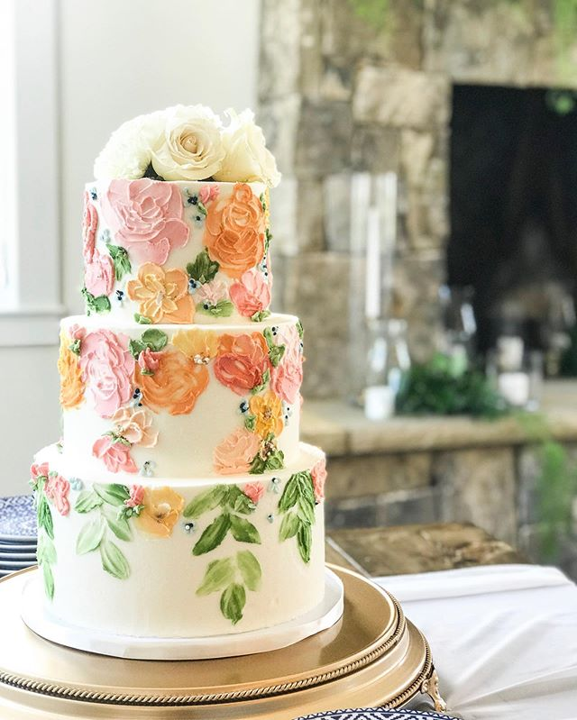 Painted Buttercream
