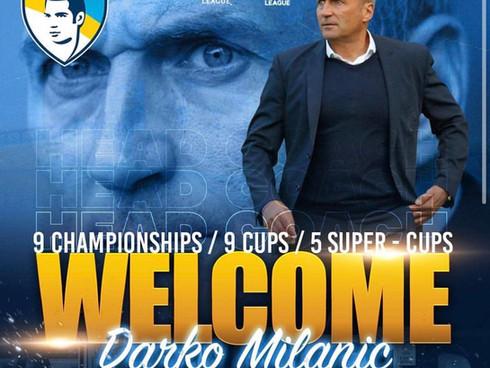 Darko Milanič new coach of FC Pafos