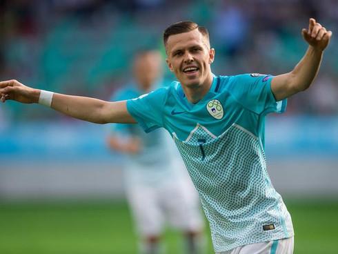 Josip Iličić scores two goals for National A team