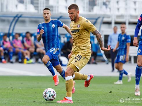 Mlakar scores two goals for Hajduk
