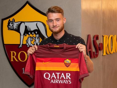 Domen Zajšek signs for AS Roma