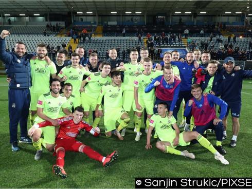 Dinamo won Croatian championship title