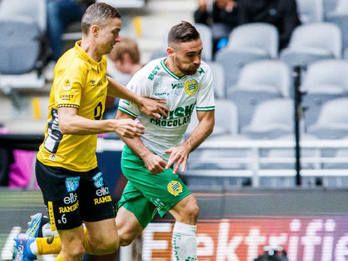 Matko's first goal for Hammarby