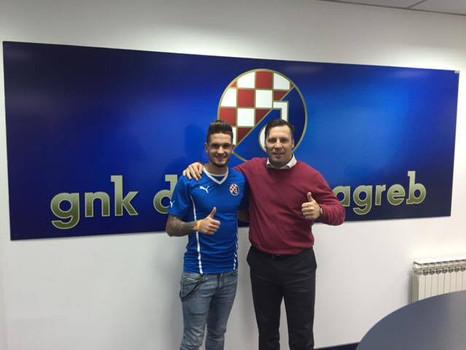 STOJANOVIĆ SIGNED FOR DINAMO ZAGREB