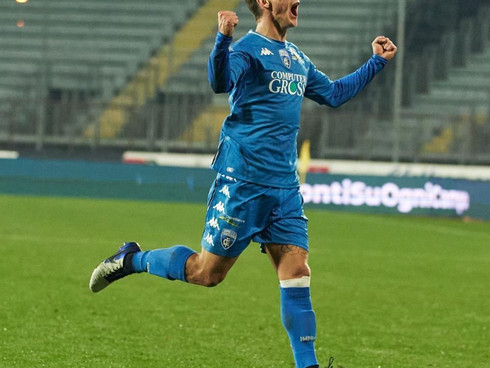 Leo Štulac scored for Empoli