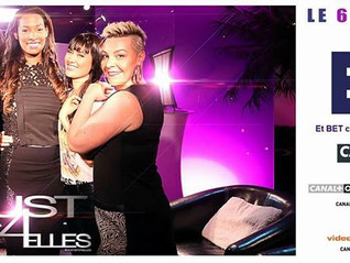 """[J-3] : """"Just 4 Elles"""" le nouveau talk show 100% féminin débarque sur BET France à 22h ! A"""