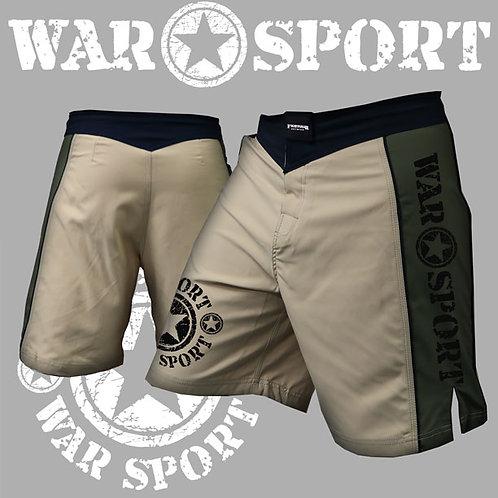 Olive and Khaki Warsport Shorts