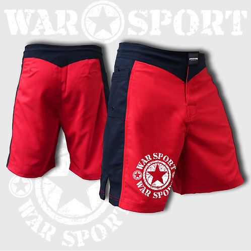 Red and Black Warsport Brand Shorts