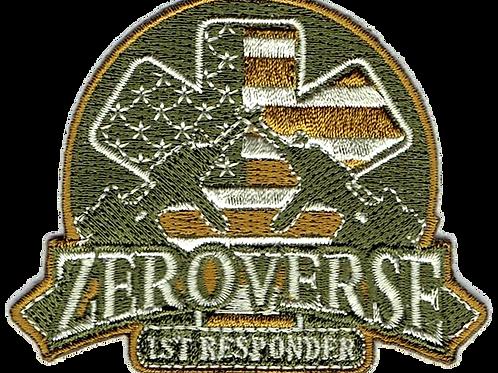 """3"""" Zeroverse First Responder Patch"""
