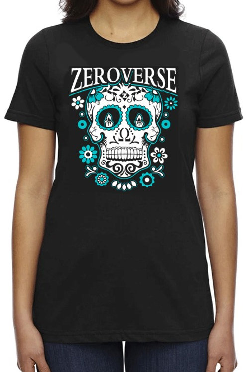 Zeroverse Sugar Skull Women's Tee