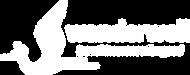 Wanderwell Logo TRANS Tagline White (no