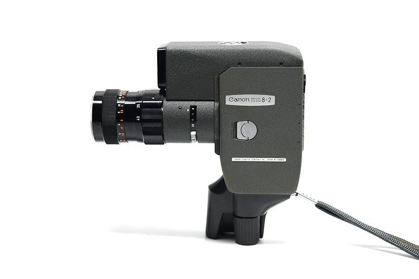 Canon Reflex Zoom 8-2 Film Movie Camera f/1.4 with C-8 Grip Handle