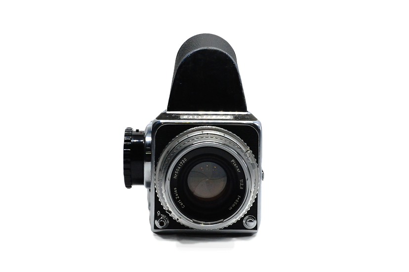 Hasselblad 500C with 120 Back, Grip, and Prism Finder Medium Format Film Camera