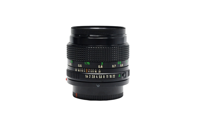 Canon 50mm FD f/1.4 Manual Focus Lens