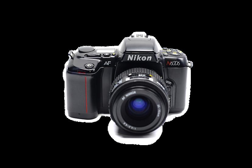 Nikon N6006 Film Camera with 35-70mm f/3.3-4.5 AF Lens