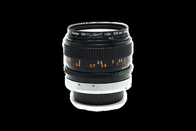 Canon 50mm FD f/1.4 S.S.C. Manual Focus Lens