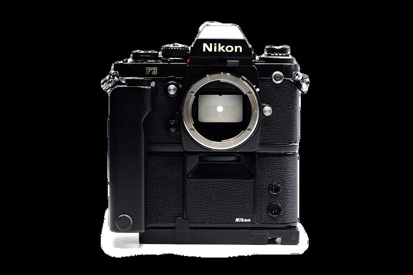 Nikon F3 Film Camera & MD-4 Motor Drive (Body Only)