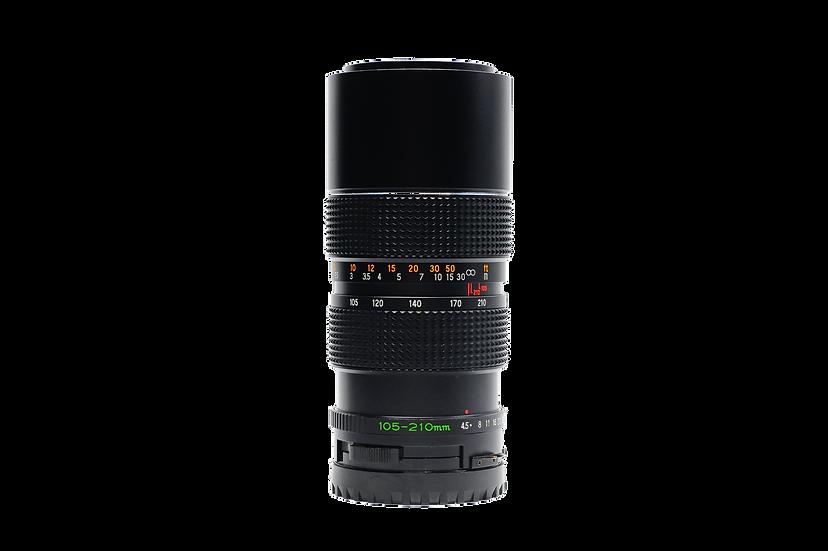 Mamiya 105-210mm F/4.5 ULD Manual Focus Lens For Mamiya 645