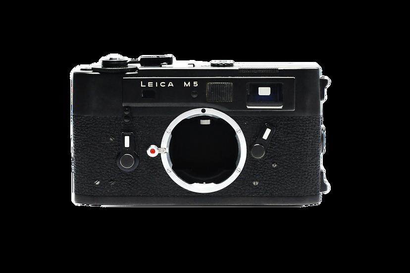Leica M5 Film Camera - Black (Body Only)
