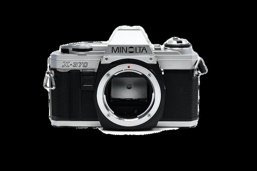 Minolta X-370 Film Camera Body Only