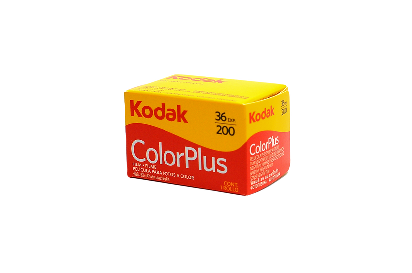 Kodak ColorPlus 35mm Color Film, ISO 200, 36 Exposures