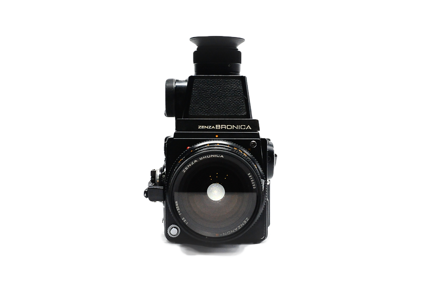 Zenza Bronica SQ-A with 50mm f/3.5 6x6 120 Medium Format Film Camera