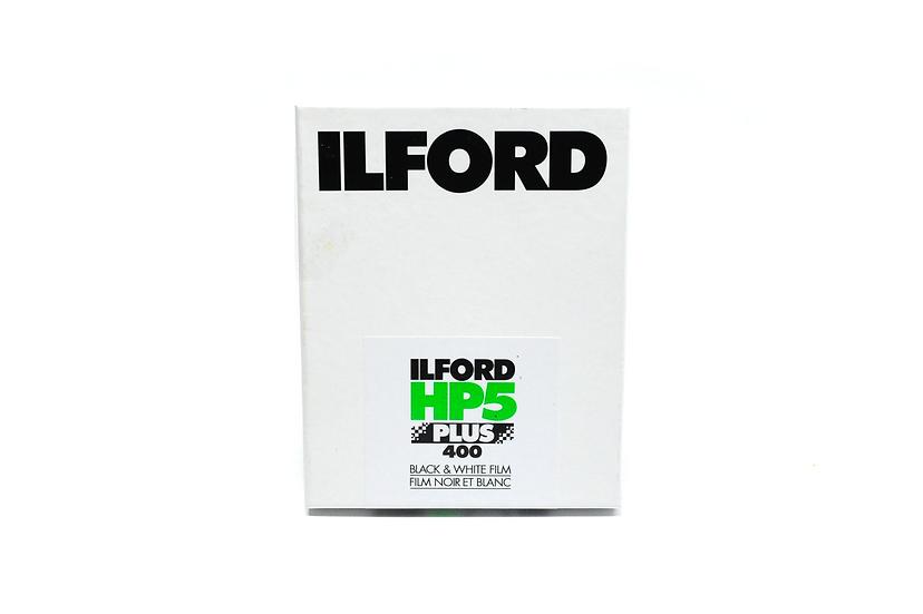 EXPIRED Ilford HP5 Plus 400 B&W 4x5 Film (25 Sheet)