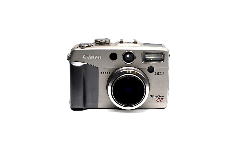 Canon PowerShot G2 4MP Digital Point and Shoot Camera with 7-21mm f/2.0-2.5 Lens