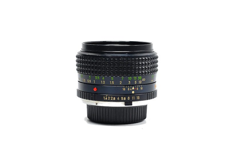 Minolta 50mm f/1.4 Rokkor MC Lens